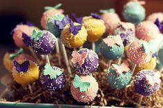 Buttterfly Cake Pop Arrangement by iheartyummy.blogspot.com, via Flickr