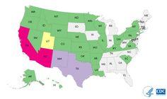 Map of Salmonella Imported Cucumber Outbreak Multistate Outbreak of Salmonella Poona Infections Linked to Imported Cucumbers | September 2015 | Salmonella | CDC http://www.cdc.gov/salmonella/poona-09-15/index.html via @CDCgov