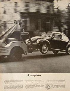 VW Ad.. a rare photo