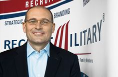 Mike Francomb, senior VP of development at RecruitMilitary, connects vets with franchise brands.