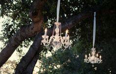 60 Ideas Diy Outdoor Chandelier Wedding Reception For 2019 Chic Wedding, Wedding Styles, Wedding Reception, Wedding Day, Wedding Stuff, Wedding Blog, Sparkle Wedding, Whimsical Wedding, Forest Wedding
