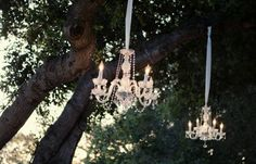 Tree chandaliers
