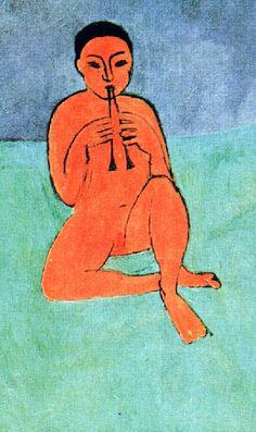 HENRI MATISSE . 1910, La musique.