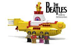The Beatles' Yellow Submarine LEGO Idea Becomes Reality