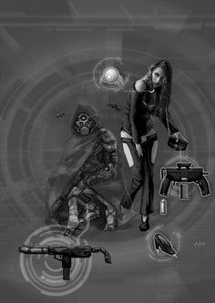 Shadowrun Machtspiele Artwork by raben-aas