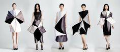 DIY: 3 ideas de falda origami. Patrón y tutorial