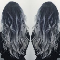 Smoky Ash Blonde with mermaid waves by Diana Shin. HOT Beauty Magazine…