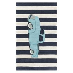 Introduce a fun vibe into your kid's room with the Artistic Weavers Victory Collection 8 ft. x 11 ft. This tufted rug boasts a child-friendly motif for a fun piece that will soften the area. Polyester Rugs, Navy Rug, Young Life, Rugs Usa, Woven Rug, Throw Rugs, Online Home Decor Stores, Blue Area Rugs, Miniature