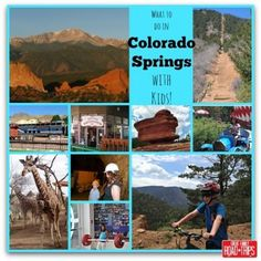 What to do in Colorado Springs with Kids - a 5 Day Itinerary #Travel