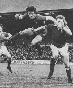 13th April 1974. Liverpool forward Kevin Keegan catching out Ipswich Town defender Kevin Beattie, at Portman Road.