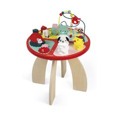 The beautifully crafted wooden baby forest activity table features 4 fun baby forest animal activities to keep little ones entertained for hours. Wooden Animals, Wooden Toys, Toddler Toys, Baby Toys, Gender Neutral Toys, Baby Hedgehog, Animal Activities, Preschool Toys, Baby Kind