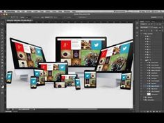How to create display mockup in second - FREE DOWNLOAD - YouTube