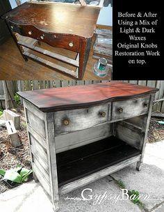 Re-Purposed Dressers