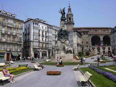Antigua Plaza de la Virgen Blanca