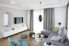 Szary salon - zobacz najciekawsze propozycje architektów  - zdjęcie numer 9