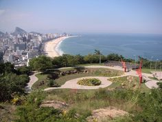 Leblon, Ipanema, and Arpoador beaches. Hotels And Resorts, Best Hotels, Brazil Beaches, South American Countries, Find Hotels, Travel Agency, Hostel, Outdoor, Domestic Destinations