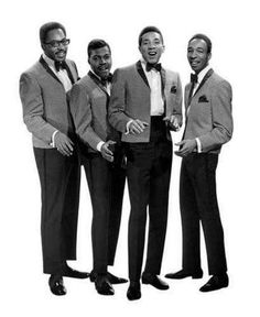 Smokey Robinson and The Miracles in a 1960s publicity photo.