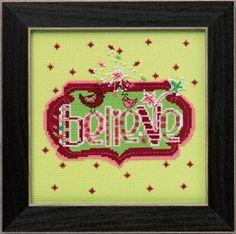 Mill Hill Amylee Weeks Believe Christmas Cross Stitch Kit
