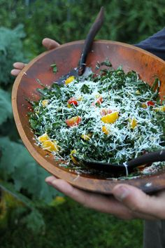 Turn your kale-hating frown upside down! Get your cancer-fighting, heart-healthy glucosinolates in this Kale Caesar Salad.
