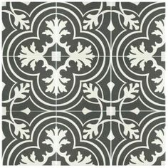 Merola Tile Twenties Classic 7-3/4 in. x 7-3/4 in. Ceramic Floor and Wall Tile (11 sq. ft. / case) FRC8TWCL at The Home Depot - Mobile