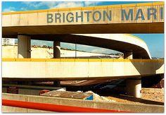 Brighton Marina July 1987