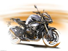 Design Sketch : Yamaha MT-10 2016.