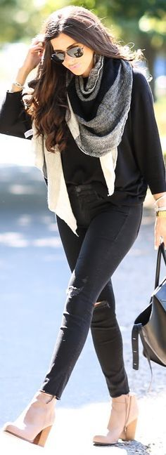 New Fitness Outfits Cold Weather Street Styles 63 Ideas Cold Weather Outfits, Fall Winter Outfits, Autumn Winter Fashion, Winter Clothes, Winter Style, Outfits Otoño, Stylish Outfits, Pinterest Fashion, How To Wear Scarves