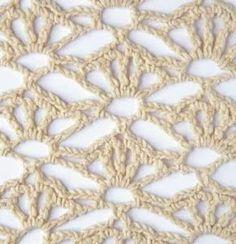 30 Patrones de Puntos y Puntadas Caladas Crochet | Todo crochet