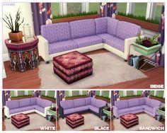 Sim_Man123's Easton Wrap-Around Sofa Recolours | WildlyMiniatureSandwich