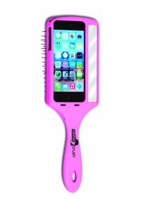 Wet Brush Selfie Brush Case for iPhone Purple 25th Birthday Gifts, Birthday Gifts For Sister, Wet Brush, Hair Brush, Skinny Mirror, You're The Worst, Find Your Phone, The Beauty Department, Apple Iphone 5