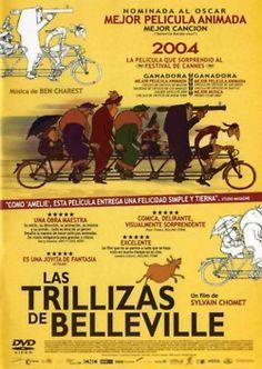 Las Trillizas de Belleville   Un film de Sylvain Chomet