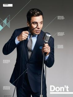 Jimmy Fallon in the March Issue of Mens Health Magazine!