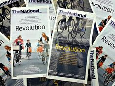 """What was your cover for today's edition of """"The National"""" #newspaper"""