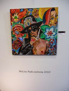 Jemina Staalon matkaploki 2015: Andy McCoy hits Canvas 30.05.2010