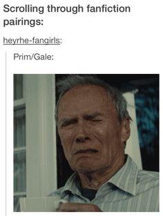 Lol haha funny pics / pictures / Hunger Games Humor / Gale / Prim / Fan Fictions / Fanfics / Fan Fics