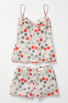 i live in loungwear. this is by Lilka. feeds my polkadot addiction