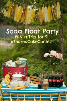 Soda Float Party and
