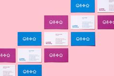 Visual identity and business cards for LiveWell Marketing by Underline Studio.