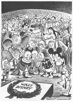 R.I.P. Walt Disney :(