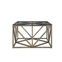 Lowest price online on all Universal Furniture Authenticity Truss Square Coffee Table in Khaki - 572801