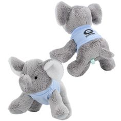 View a larger, more detailed picture of the Mini Cuddly Friends - Elephant