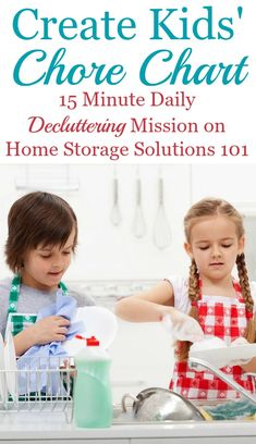 How and why to create a kids' chore chart to get kids involved in household responsibilities, plus lots of real life examples of these charts in people's homes {on Home Storage Solutions Coaching, Education Positive, How To Teach Kids, Help Kids, Home Storage Solutions, Chores For Kids, Household Chores, Household Tips, Elderly Care