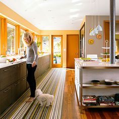 Kitchen built with durable, kid-proof materials
