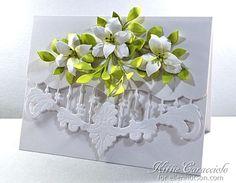 6/18/14. KittieKraft: White Lilies and Anja's Border