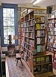 """Imagen vía Pinterest: Librería """"Square Books"""" en Oxford"""