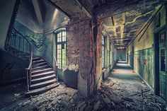Juxtapoz Magazine - Matthias Haker: A Series of Abandoned Buildings