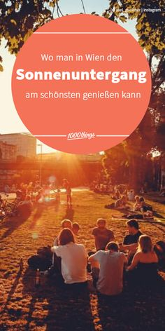 Wir sind verliebt in den Sommer in Wien! Falls ihr den Sonnenuntergang mal so richtig auskosten wollt, solltet ihr an unseren Lieblingsplatzerl für Sonnenuntergänge vorbeischauen. Schnappt euch eure Lieblingsmenschen, einen Picknickkorb und eine Decke und genießt das Naturschauspiel – natürlich falls das Wetter mitspielt. Wien, Wien, nur du allein! Instagram, Movie Posters, Movies, Alone, In Love, Weather, Summer, Nice Asses, 2016 Movies