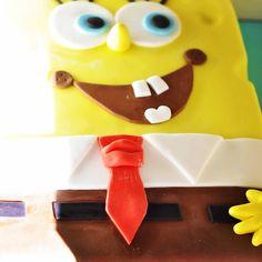 Mr. Sponge Bob birthday cake by Pavlov's Lab