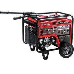 Honda EM4000S 4,000 Watt Generator With Electric Start View Three