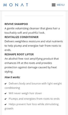 Naturally based anti-aging skin care & hair care products - with an unrivaled business opportunity, a culture of family, service & gratitude My Monat, Monat Hair, Best Hair Care Products, Hair Care Brands, Hair Quiz, Hair Quotes, Hair Growth Tips, Oily Hair, Hair A